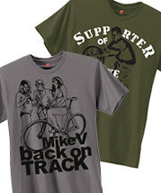 """Back on Track"" T-shirt"