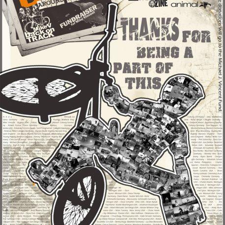"""BMX AROUND THE WORLD"" Poster"