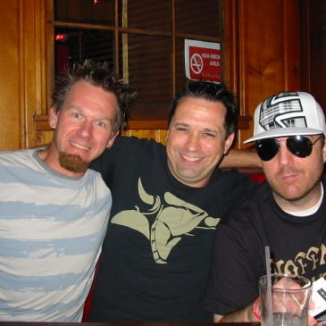 Fun with friends in Cleveland, July 2012: