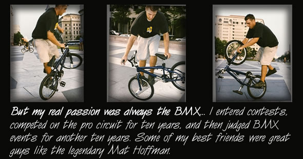 About Mike BMX