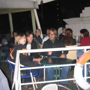Tristan, Mike, Ardelean in Shanghai 2004